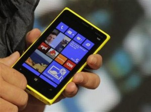 Nokia Lumia 920 with Microsoft's Windows 8
