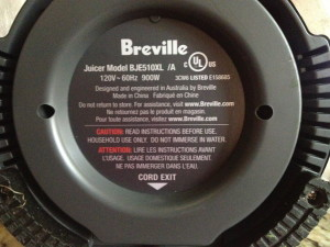 Breville BJE510XL