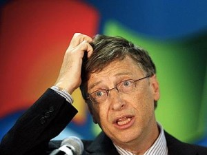 Confused Bill Gates