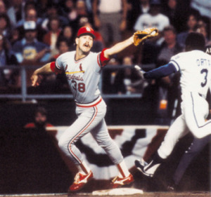1985 World Series, Out at First