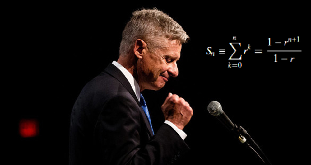 gary johnson math