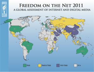 Freedom on the Net 2011