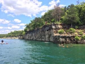 35-foot Cliff